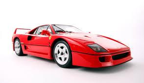 model f40 f40 1987 scale model cars