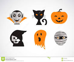 free halloween vector art happy halloween vector set royalty free stock photo image 34184565