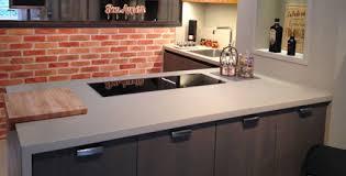beton ciré pour plan de travail cuisine plan de travail béton ciré la cuisine lancelin fils caen