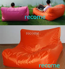 2017 orange garden seat double seat bean bag lounger extra wide