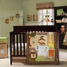Jungle Themed Nursery Bedding Sets 17 Best Baby Bedding Safari Images On Pinterest Babies Rooms