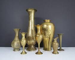 Brass Vase Value Brass Vase Etsy