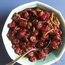 cherry cranberry relish