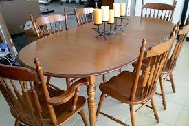 Maple Dining Room Table And Chairs Maple Dining Chairs Tell City Dining Set Remodel Ideas Excellent
