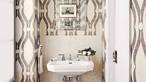 wallpaper designs for bathrooms bathroom remodel ideas for small bathrooms architectural digest