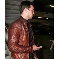 motorcycle jackets for men nicholas hoult jacket brown leather motorcycle jacket for mens