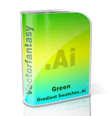 free green gradient swatches www vectorfantasy com