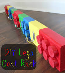 diy lego coat rack coat racks lego and tutorials