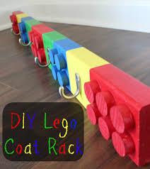 Childrens Coat Hangers Diy Lego Coat Rack Coat Racks Lego And Tutorials