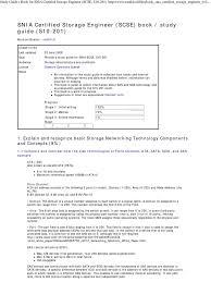 basic storage networking technology certified storage engineer