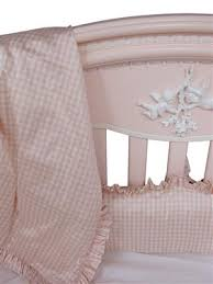 Gingham Crib Bedding Cosette Gingham Crib Bedding By For Afk