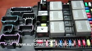 2003 Ford Expedition Interior Parts 2003 Ford Expedition Or Navigator Fuse Central Junction Box