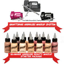 professional airbrush makeup system graftobian airbrush makeup review