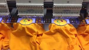 Cnc Machine Operator Job Description Embroidery Machine On A Job Youtube