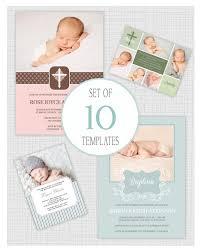 christening invitation template psd free download battesimo