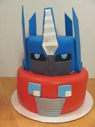 optimus prime cakes whimsy cakes optimus prime transformers cake kids