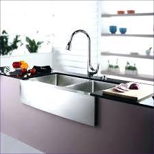 smart divide stainless steel sink kohler vault sink apron farmers stainless steel front smart divide