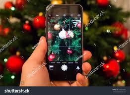 bucharest romania december 25 2015 iphone stock photo 357021059