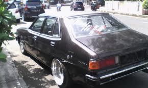 mitsubishi eterna modifikasi mobil klasik sedan mitsubishi galant sigma 1600 cc 1982 retro
