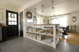 kitchen islands with storage kitchen black island with storage white marble countertop 3