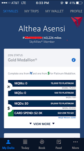 the traveling dyosa promo delta gold medallion status and delta