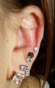 second ear piercing earrings secret beauty box ear piercing jewellery shop secret