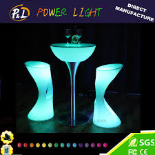 china led furniture bar furniture led flower pot supplier