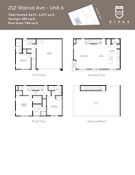 floor plans 212 walnut ave unit a walnut 206
