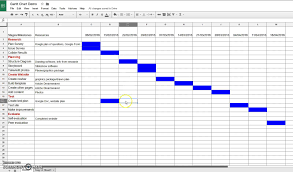 Create A Doc Spreadsheet Creating A Gantt Chart In Sheets