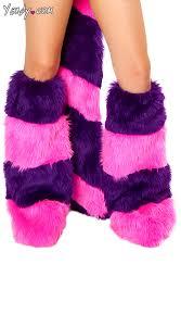 Cheshire Cat Costume Cheshire Cat Costume Legwarmers Cheshire Leg Warmers Pink And