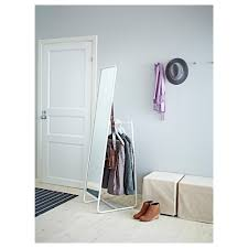 Hanging Clothes Rack From Ceiling Knapper Floor Mirror Ikea