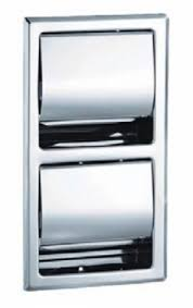 Bradley Bathroom Accessories by Bradley 5127 5127 Recessed Toilet Tissue Dispensers