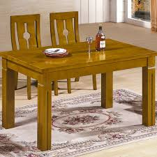 Modern Solid Wood Dining Table Solid Wood Dining Table Modern Style Living Room Bedroom Wooden