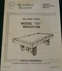 brunswick brighton pool table brunswick brighton pool table