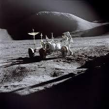 walking on the moon nasa