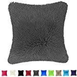 Grey Decorative Pillows Amazon Com Grey Throw Pillows Decorative Pillows Inserts