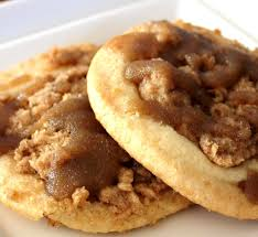 coffee cake cookies ingredients sugar cookie dough light brown