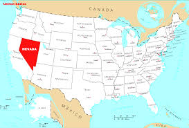 Map Of Nevada Cities Where Is Nevada Located U2022 Mapsof Net