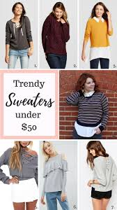 trendy sweaters 50 cold weather and fashion