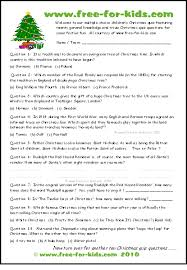 printable quizzes uk free christmas quiz questions for children