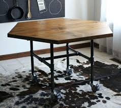 Diy Industrial Dining Room Table Dining Table Diy Industrial Style Dining Table Farmhouse Set