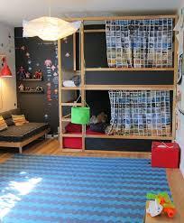 Best Kids Room  Ikea Bunk Bed Images On Pinterest Ikea Kura - Double bed bunk bed ikea