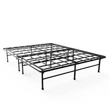 King Platform Bed With Storage Amazon Com Zinus 14 Inch Elite Smartbase Mattress Foundation