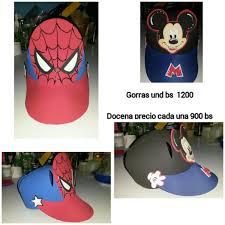 como hacer gorras de fomix del cars gorras de foami personalizadas cars frozen mickey bs 250 000 00
