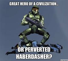Master Chief Meme - which one master chief great hero of a civilization or