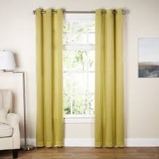 Yellow White Curtains White Yellow Gold Curtains Drapes You Ll Wayfair