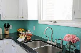 painted tiles for kitchen backsplash how to paint a tile backsplash a beautiful mess