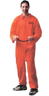 men u0027s plus prisoner orange halloween jumpsuit the costume shoppe