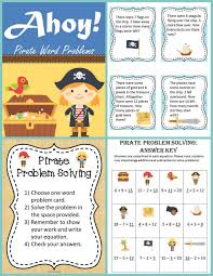 pirate addition and subtraction word problems common cores math