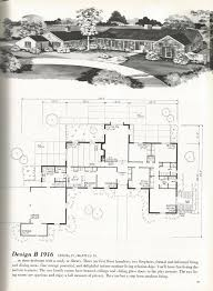 vintage house plans mid century homes luxurious vintage home